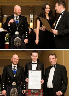 Polymer Apprentices of the Year (top) Amy Keenan, UK Winner; (bottom) Iain Calder, UK runner-up